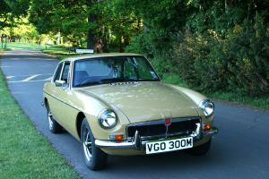 MGB GT 1974 Unmarked Harvest Gold Coachwork 2 Former Keepers From New  Photo