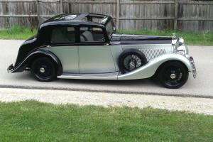 1936 Bentley Derby Hooper B163GP
