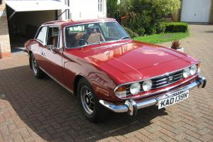 1974 TRIUMPH STAG AUTO RED  Photo