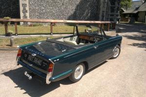 TRIUMPH HERALD 1200 CONVERTIBLE CLASSIC, 1967  Photo
