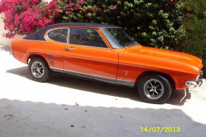FORD CAPRI MK1 1600XL 1974, IN SEBRING RED, UNRESTORED IN EXCELLENT CONDITION
