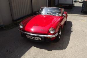 1978 TRIUMPH SPITFIRE 1500 RED EXCELLENT CONDITION BRITISH CLASSIC CONVERTIBLE  Photo