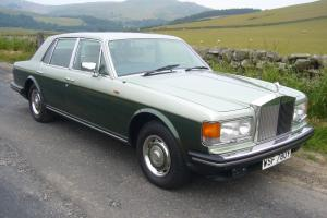1982 ROLLS ROYCE SILVER SPIRIT II  Photo