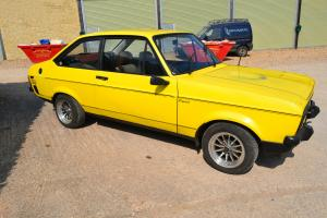 Ford Escort Mk2 1600 Sport in Bright Yellow