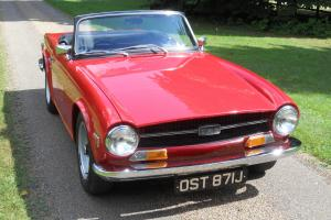 Triumph TR 6  Photo
