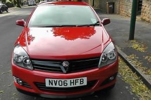 2006 VAUXHALL ASTRA 1.4 SXI RED