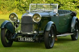 1931 Lagonda 2 Litre low Chassis T2 Tourer.  Photo