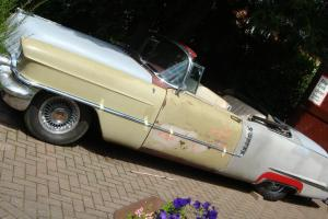 CADILLAC 1956 CONVERTIBLE TO RESTORE CADDY CONVERTIBLE AMERICAN CLASSIC USA