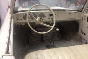 1963 Amphicar, partially restrored good condition white original parts