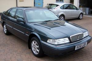 1998 ROVER 820 SI AUTO BLUE ONLY 14000 MILES FROM NEW STUNNING CONDITION