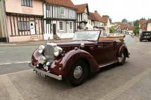 Alvis TA14 Drophead Coupe by Carbdies 1948, in wonderful condition.