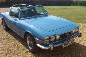 TRIUMPH STAG MK2 AUTO 3L V8 ORIGINAL TRIUMPH ENGINE - GREAT CAR Photo