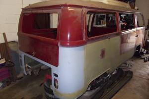 VOLKSWAGEN WESTFALIA TURRET TOP CAMPER VAN T2 EARLY BAY