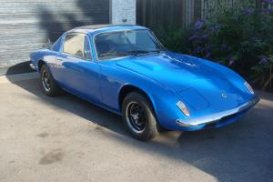 LOTUS ELAN 1970 TAX EXEMPT