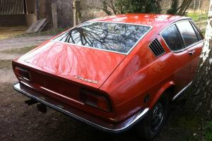 1971 AUDI 100 Coupe S very rare early model Twin Carb project from belgium