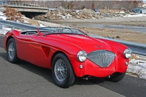 "1955 AUSTIN HEALEY 100/4 RALLY RACER ""GORGEOUS, FULLY RESTORED, STREET OR TRACK!"