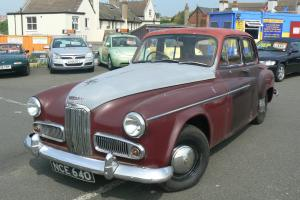 1954 HUMBER SUPER SNIPE RESTORATION PROJECT BARN FIND CLASSIC CAR VERY RARE  Photo