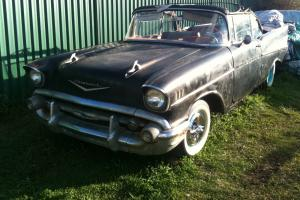 Untouched Original Black 1957 Chevrolet Belair Convertible ALL Numbers Matching in Sydney, NSW