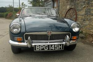 MGB Roadster 1970 In Blue Royale  Photo