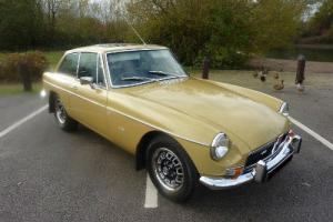 MGB GT V8 FACTORY CAR NO. 23 1973 PX COVERED 200 MILES SINCE RESTORATION 08  Photo