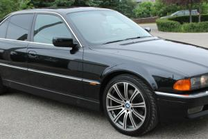 BMW 740i Black on Black with only 29,000 km Rare opportunity