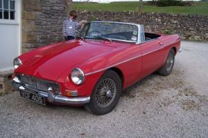 MG B RED Gorgeous original 1963 Car.  Photo