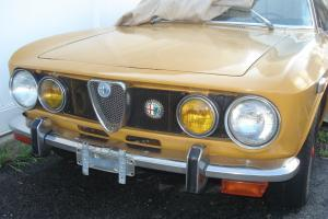 alfa gtv1750 runs strong need some body work and interior seat cover other fiat