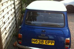 1996 ROVER MINI SPRITE BLUE