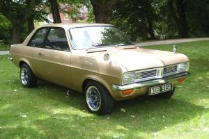 1972 VAUXHALL GOLD Vauxhall Viva Mint Roystyle wheels Tax exempt MOT