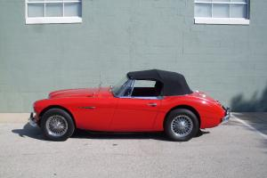 1967 AUSTIN HEALEY 3000 BJ8 OVERDRIVE WIRES LEATHER EXCEL DRIVER PRICED TO SELL Photo