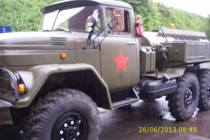 Zil 131 russian truck, 6x6, decontamination unit, cold war