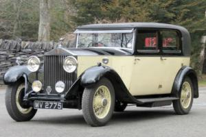 1932 Rolls-Royce 20/25 Park Ward Saloon GBT52  Photo