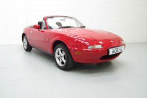 A Stunning and Original UK Mazda MX-5 Two Owners, Full History and 61,272 Miles