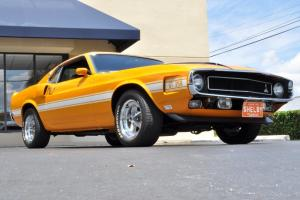 LOW MILES SHELBY MUSTANG GT 350 SPECIAL ORDER GRABBER ORANGE WITH A/C