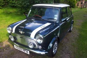 Classic Mini Cooper 1275. RSP 1990 Green  Photo