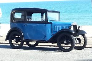 1932 Austin Seven RN Saloon Recently Restored to a high Standard