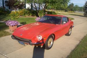 1971 DATSUN  240Z  VERY ORIGINAL TWO OWNER RUST FREE CAR