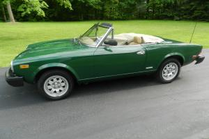 1983 fiat ( pini farina ) spider europa  2000 fuel injection convert.
