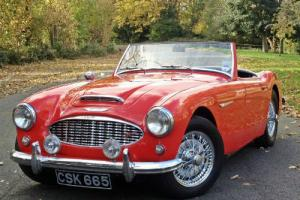 1958 Austin Healey 100/6 2 Seater Roadster - Very Rare  Photo