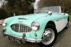 1960 Austin Healey 3000 MK1 BT7 - Original UK RHD Car