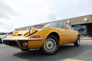 1972 Opel GT Voupe Orange on Black  Manual Rare