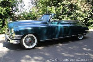 1949 Packard Super 8 Convertible Victoria. SEE VIDEO. Tour proven!