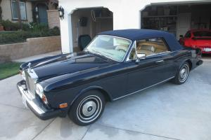 1984 Rolls Royce Corniche Convertible Photo