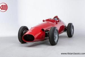 TIPO 250F Maserati Recreation