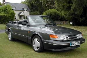 1991 SAAB 900 TURBO 16S CONVERTIBLE AUTO