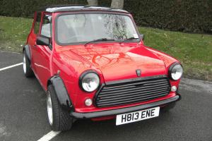 1990 ROVER MINI RACING FLAME CHECKMATE RED/BLACK