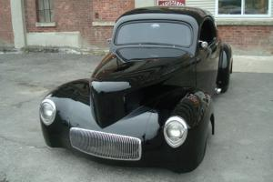 1941 Willys Coupe Hot Rod Prostreet