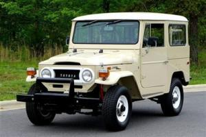 **MUST SEE** CLASSIC 1971 Toyota Land Cruiser * Manual trans * Frame-off Restore