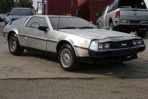 1981 Delorean DMC-12 Damaged Salvage RUNS! Rare Hard to Find Classic Wont Last!!
