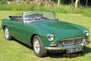 1967 MGB GREEN  Photo